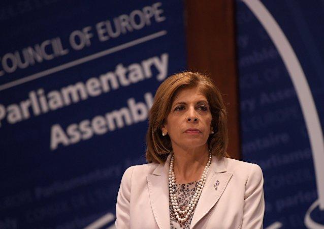 Stella Kyriakides, presidenta de la PACE