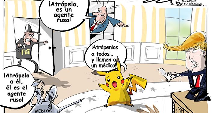 CNN declaró que Rusia intervino en los asuntos internos de EEUU mediante el uso de Pokémon Go