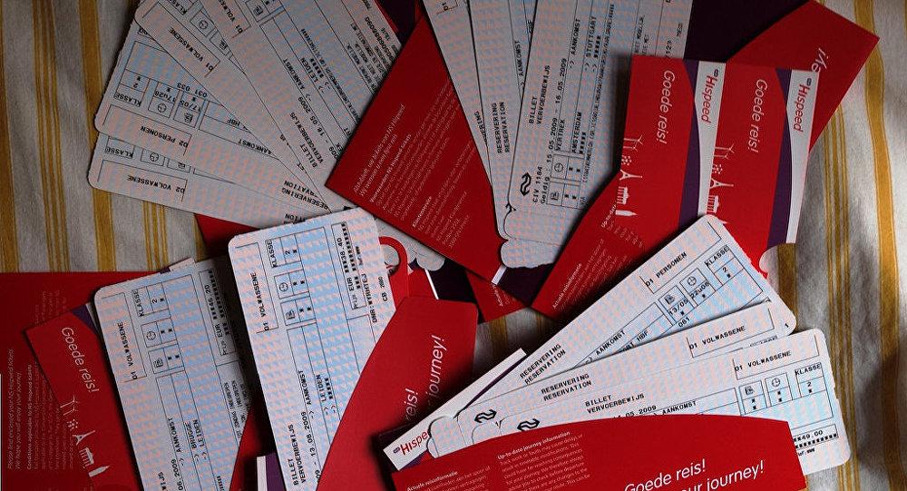 Billetes de avión (imagen referencial)