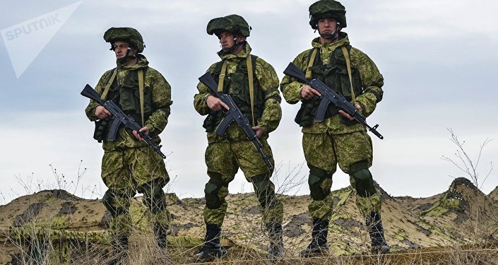 Soldados de las FFAA de Rusia