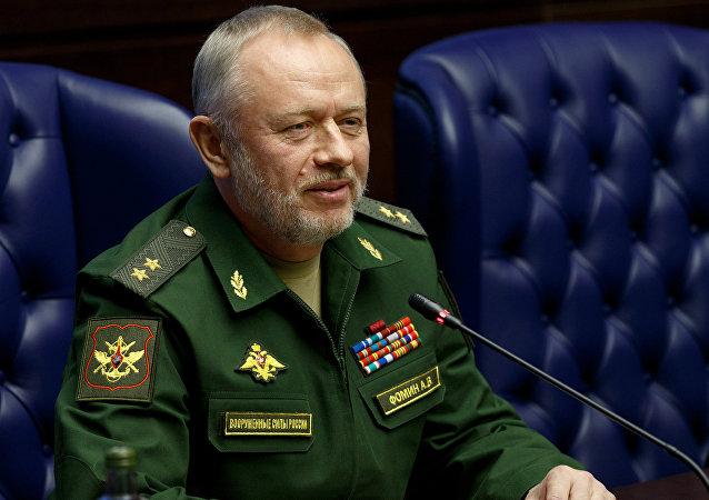 Alexandr Fomín, el viceministro ruso de Defensa
