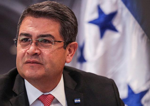 Juan Orlando Hernández, el presidente de Honduras