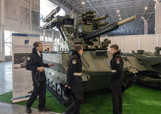 Robot de combate Uran-9