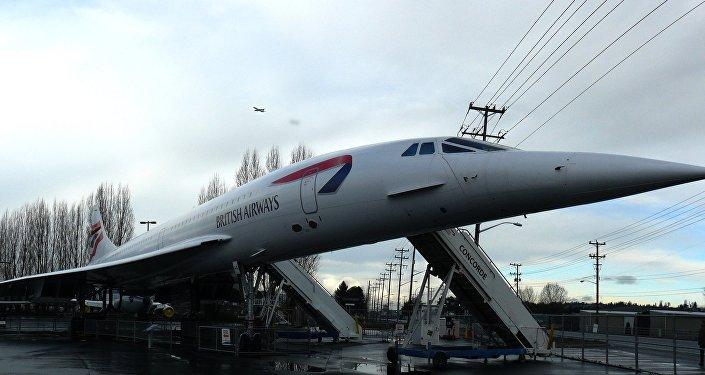 Un Concorde (archivo)