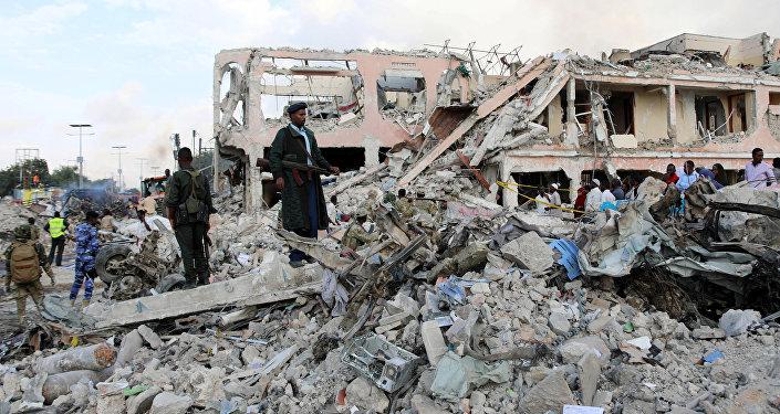 Atentado terrorista en Somalia dejó 215 muertos — VENEZUELA