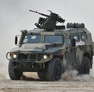 El vehículo blindado Tigr (archivo)