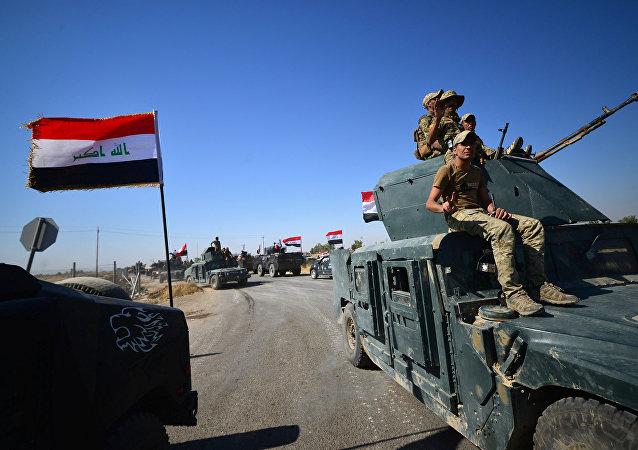 Tropas iraquíes avanzan hacia Kirkuk