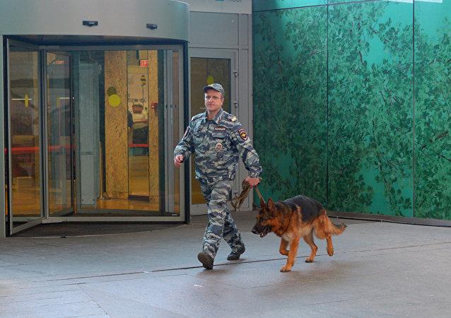 Evacuación en Moscú