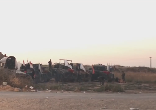 Las fuerzas gubernamentales de Irak avanzan hacia Kirkuk