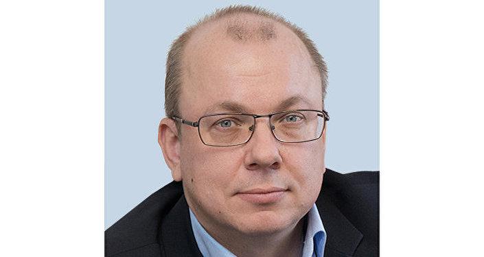 Artiom Ledenióv, el jefe del departamento de comunicaciones externas de Transmashholding