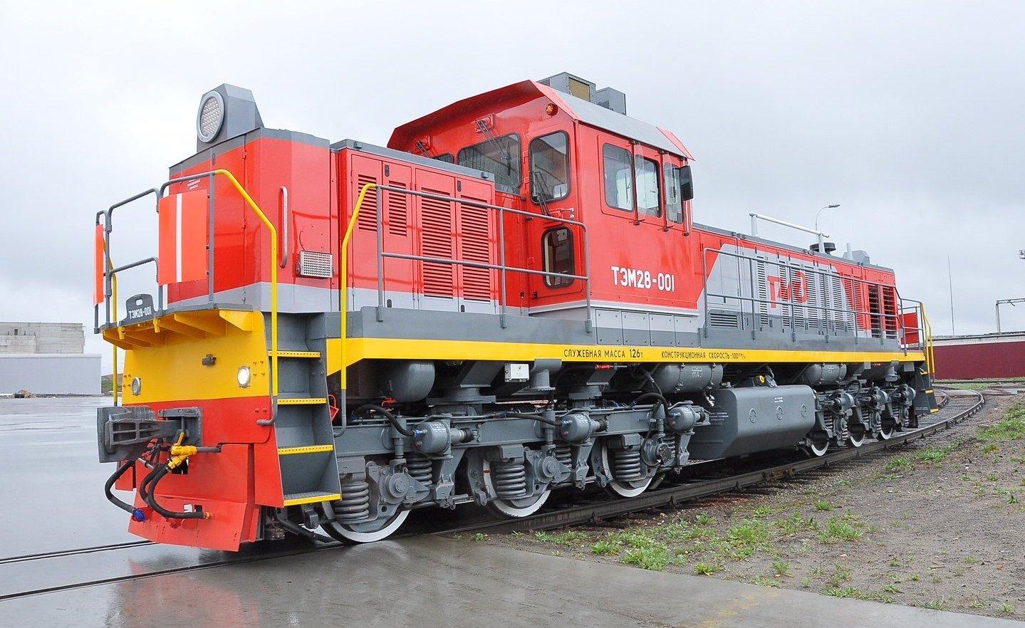 La locomotora de maniobras TEM28, a punto de recibir el certificado de uso