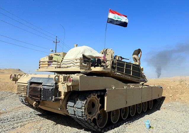 Tanque de las FFAA de Irak