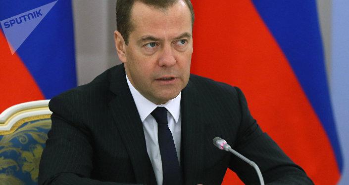 Dmitri Medvédev, primer ministro ruso