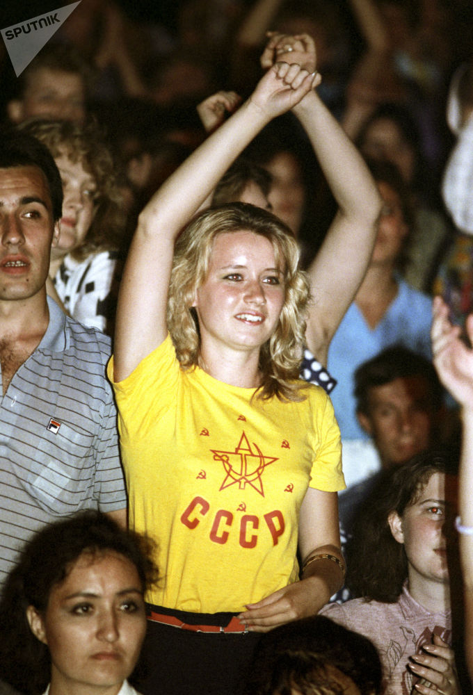 Deporte y conciertos de rock: la juventud soviética, como nunca la habías visto
