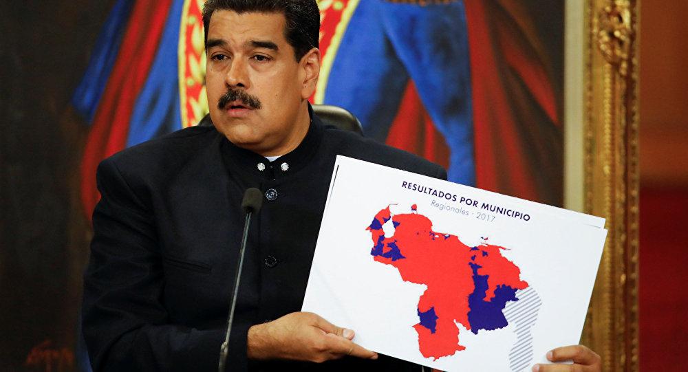 Nicolás Maduro presidente de Venezuela