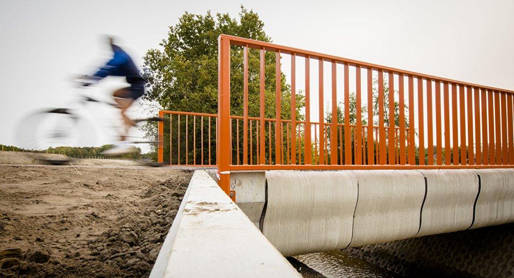 El primer puente impreso en 3D en Países Bajos