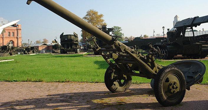 Un mortero M-160 (archivo)