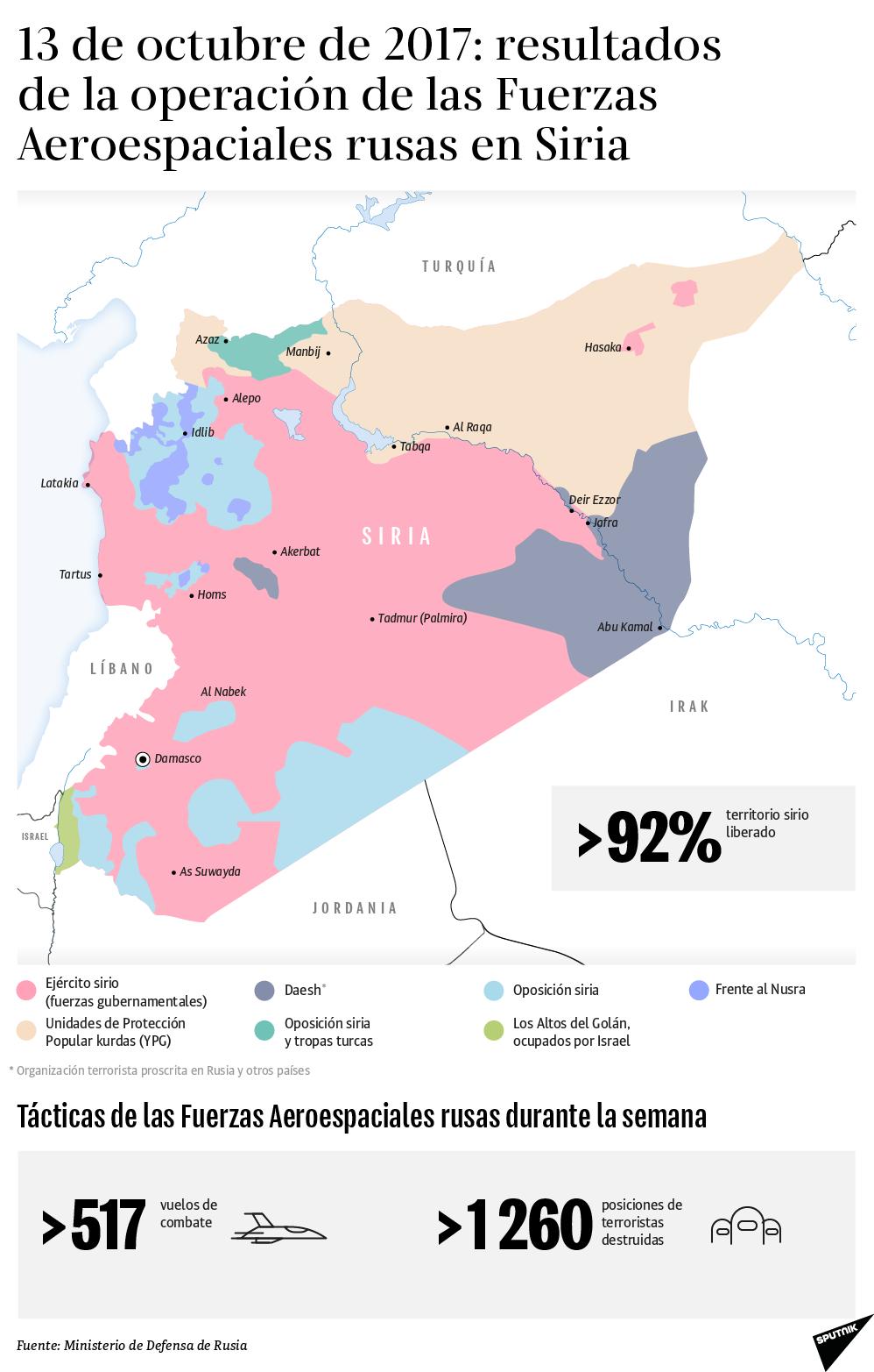Los resultados de la operación de Rusia en Siria