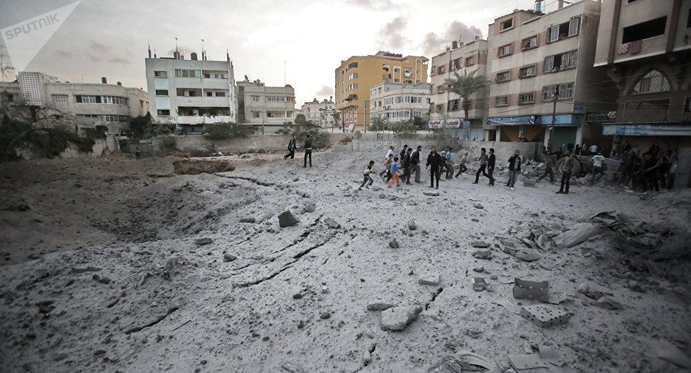 El conflicto armado entre Israel y Palestina (archivo)