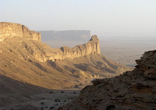 Un paisaje de Arabia Saudí