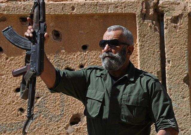 Issam Zahreddine, general del Ejército Árabe Sirio (archivo)