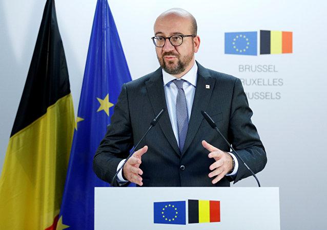 Charles Michel, el primer ministro de Bélgica