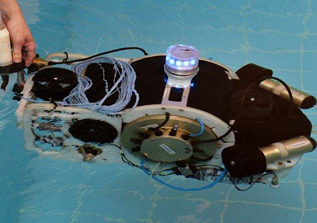 Un robot submarino ruso (archivo)