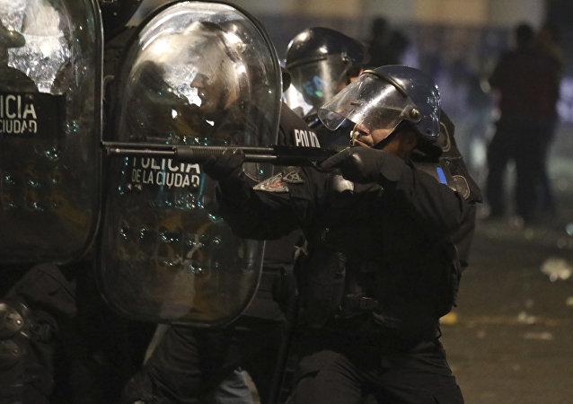 La Policía de Argentina
