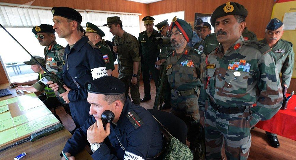Resultado de imagen para Maniobras Militares Ruso-indias