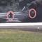 ¡Sálvese quien pueda! Pilotos nipones saltan de un caza en llamas