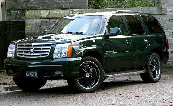 Un vehículo Cadillac Escalade