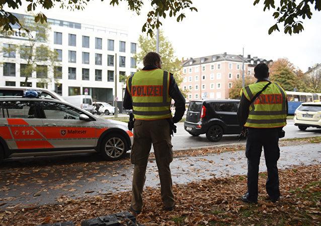 Lugar del ataque en Múnich