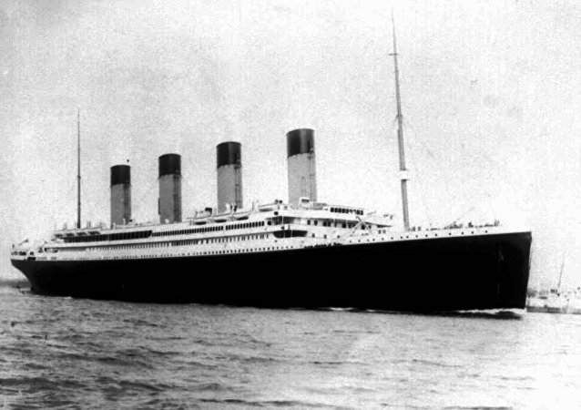 Titanic, imagen de archivo
