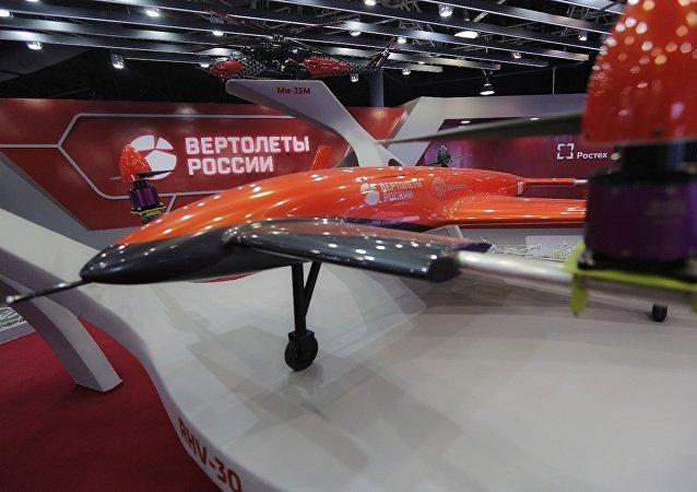 El dron convertiplano VRT30, diseñado por la empresa Helicópteros de Rusia