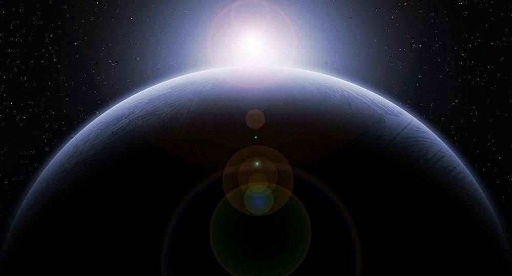 Un planeta (ilustración)