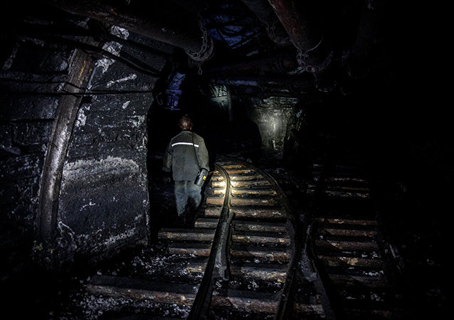 Una mina en la ciudad de Shajtiorsk