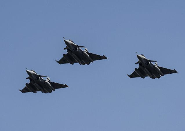 Aviones de la Fuerza Aérea egipcia