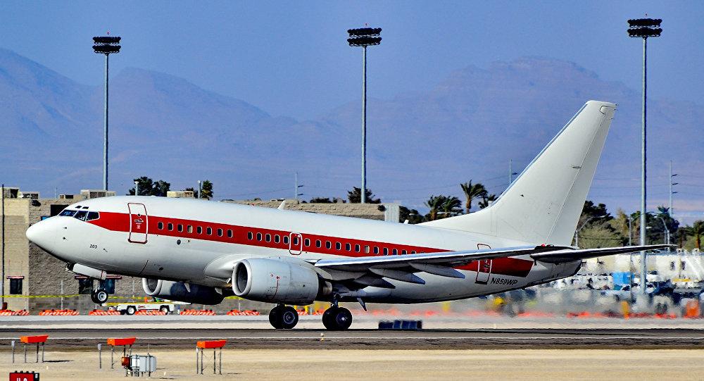 Un avión de la aerolínea fantasma Janet