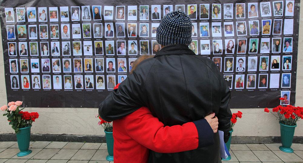 Las fotos de las víctimas del atentado en el Teatro de Dubrovka de Moscu en octubre de 2002