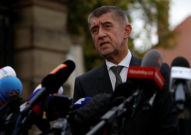 Andrej Babis, líder del movimiento Alianza de Ciudadanos Descontentos checo