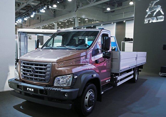 El camión de tonelaje medio GAZon Next, el modelo de base para el taller movil