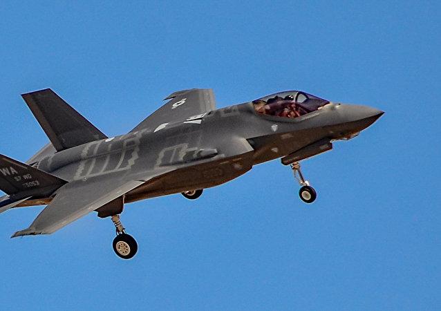 Caza estadounidense F-35 (imagen referencial)