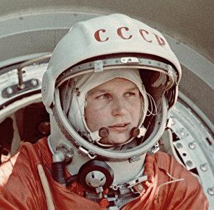 Valentina Tereshkova, primera mujer cosmonauta del mundo