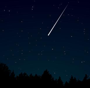 Estrella fugaz (imagen referencial)