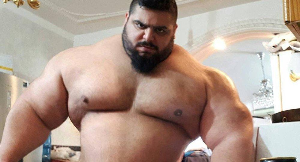Sajad Gharibi, el 'Hulk iraní'