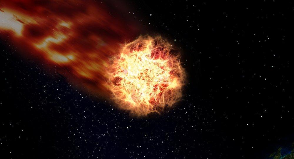 Un cometa (ilustración)