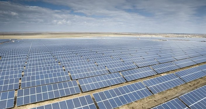 Paneles solares (imagen referencial)