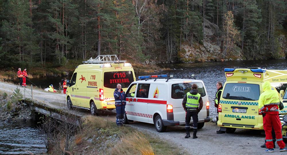Un helicóptero ruso se estrelló en Noruega con 8 a bordo