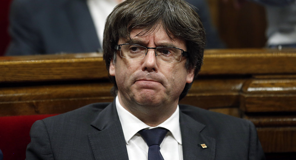Carles Puigdemont, expresidente del Gobierno catalán (archivo)