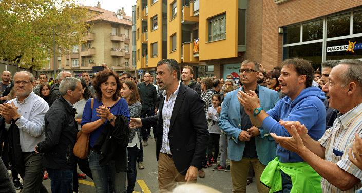 El consejero de Empresa del Gobierno catalán, Santi Vila